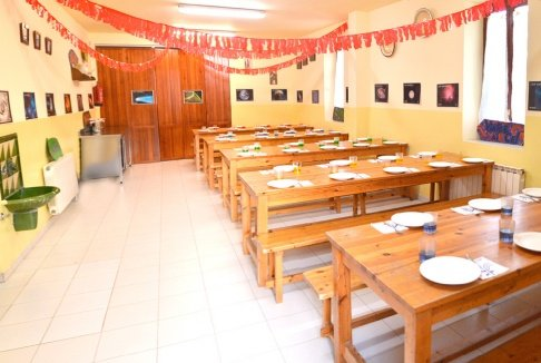 Casa de colonias Can Vandrell comedor